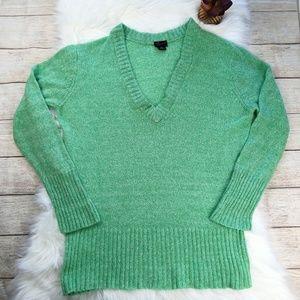 Torrid Green Knit Sweatshirt Size 2